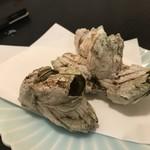卯の花 - 料理写真:フジツボ焼