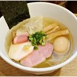 麺屋 正路 - 特製鯛煮干らーめん 1000円 すっきりしつつも鯛の旨味たっぷり♪