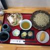 竹笛 - 料理写真:松茸天ざるそば