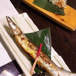 92858106 - 秋刀魚の塩焼き