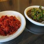 らぁ麺 しん - 辛味・ニラキムチ