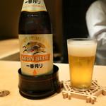 焼鳥 茜 - 瓶ビール
