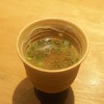 焼鳥 おがわ - スープ