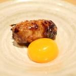 焼鳥 茜 - 比内地鶏の初卵とつくね