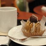 カフェ・ベローチェ - モンブランも美味しい