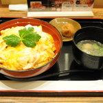 鶏三和 - 香草美水鶏親子丼セット