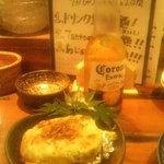 タント - コロナビールとアボガドとマスカルポーネチーズのグラタン(8/31)