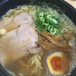 隆勝 - 醤油味のほう 中華そば 麺大