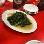 味仙 - 料理写真:問答無用の青菜