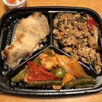 92862820 - 「タイのお惣菜3種盛り」702円