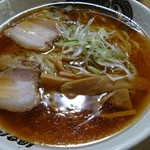 食堂 はせ川 - 淡麗醤油中華そば(小チャーシュー付)