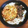 牧のうどん - 料理写真:肉+野菜天(中麺)