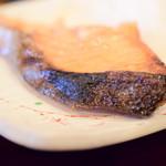 あん梅 - 【鮭 塩焼 定食@税込1,300円】香ばしき皮