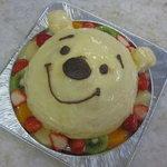 欧風菓子ソムリエ - キャラクターケーキ   (くまのプーさん)