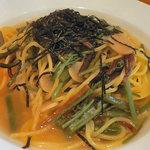 ベルソリーゾ - 山菜の和風スパゲティ