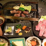 高森田楽の里 - 肥後赤牛耕焼定食
