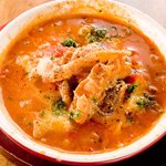 カルネヴァーレ - 4種もつのトマト煮込み。手作り!