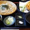 一草庵 - 料理写真:桜海老天ざる蕎麦