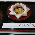 住吉屋総本店 - 料理写真:「久寿餅」