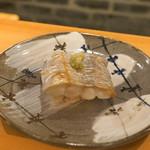 東麻布 天本 - 太刀魚寿司