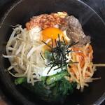韓国市場 炙屋 - 料理写真:石焼きビビンバ美味しいです