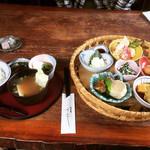 旬菜蔵せんや - 田舎ゆば膳  ¥1,922-