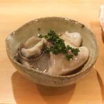 東麻布 天本 - 仙鳳趾の真牡蠣