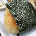 ミソ ポタ キョウト - 玄米の焼きおにぎり(みそ)は大きめサイズ