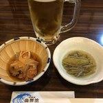 居酒屋 海鮮館 - 料理写真:お通し500円
