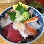 お食事処 たねいち - 本日の9種丼 1000円。