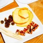 信州くらうど - 市田柿ミルフィーユとドライフルーツの盛り合わせ