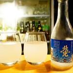 kaku.uchi - スパークリング日本酒 北光