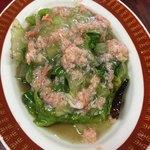 餃子の李 - 蟹レタス