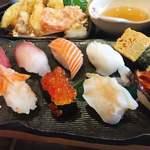 海鮮れすとらん 魚輝水産 JR平野駅前店 - お寿司10貫♡