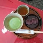 赤福 - 抹茶セット