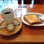 珈琲屋OB - 料理写真:ブレンドコーヒー300円に無料モーニング