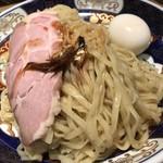 すごい煮干ラーメン凪 - すごい煮干つけめん味玉トッピング(980円税込)