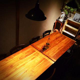 女子会、ママ会で人気の個室!お座敷とテーブルの2パターンあり
