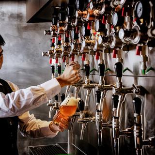 職人が丹精込めて作ったこだわりのクラフトビール
