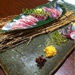 9289470 - 秋刀魚のお刺身