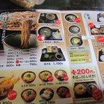 9289837 - 店舗の場所は良く知ってたんですが初めての訪問だったのでメニューの中から人気NO1の「かもざる蕎麦」を注文してみました。