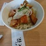 92890741 - 焦がしバター醤油チャーシュー丼(小)200円