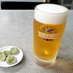 中華や - 生ビール: