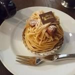 タンブラン - 芋のモンブラン