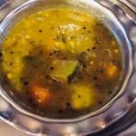 カルパシ - 生のホーリーバジルがフレッシュに香る。野菜のサラサラシチュー。どの料理とも相性抜群。これが一番気に入りました!
