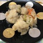 菊乃井 - 鯵の南蛮漬け。米酢ではなく柑橘系の酸味が強いかな。