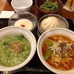謝朋殿 粥餐庁 - 担々麺&選べるお粥セット