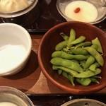 謝朋殿 粥餐庁 - 茶豆