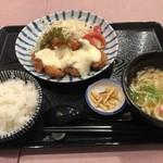 味将 - チキン南蛮定食(990円)