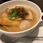 名古屋八麺山 - 名古屋 深味噌 830円 +煮卵 100円 +極太メンマ 100円